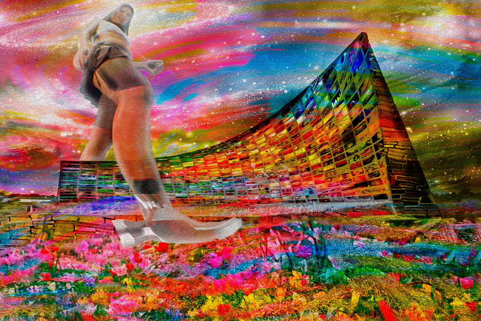 Tela: Hammer March Artista: Henrique Vieira Filho