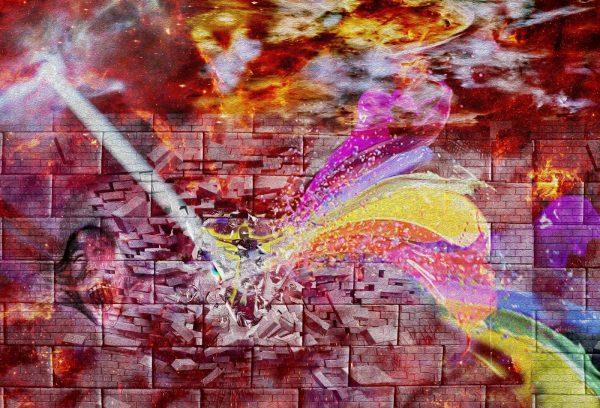 Tela: The Wall Artista: Henrique Vieira Filho