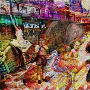 Tela: Berlin Wall Artista: Henrique Vieira Filho