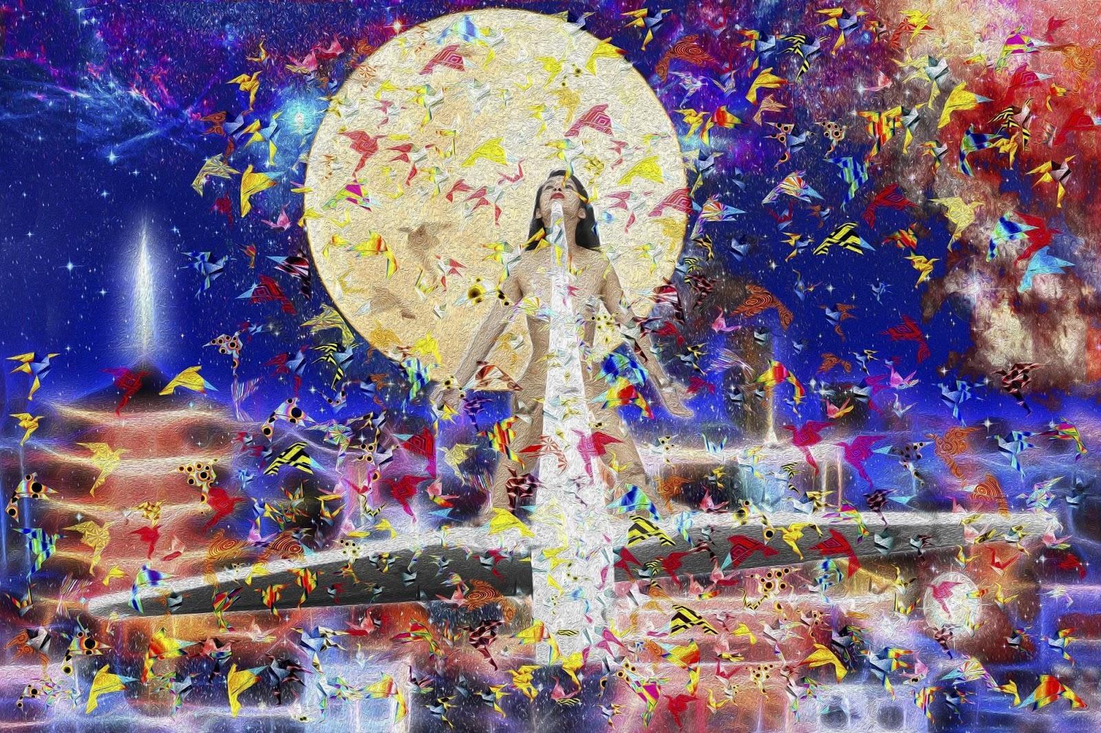 Tela: Wings Of Wishes Artista: Henrique Vieira Filho
