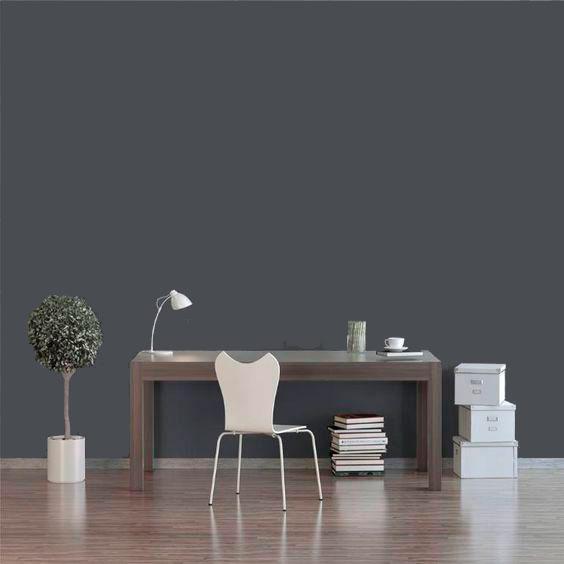 Sala Parede Cinza  – Moderna