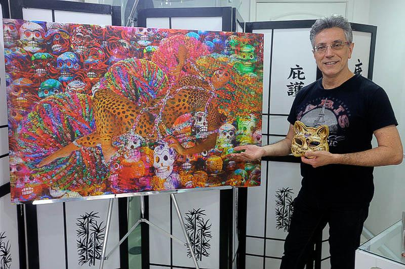 O Artista Plástico e Psicanalista Henrique Vieira Filho apresenta sua releitura das aquarelas da da Bióloga e Artista Plástica Monique Nunes