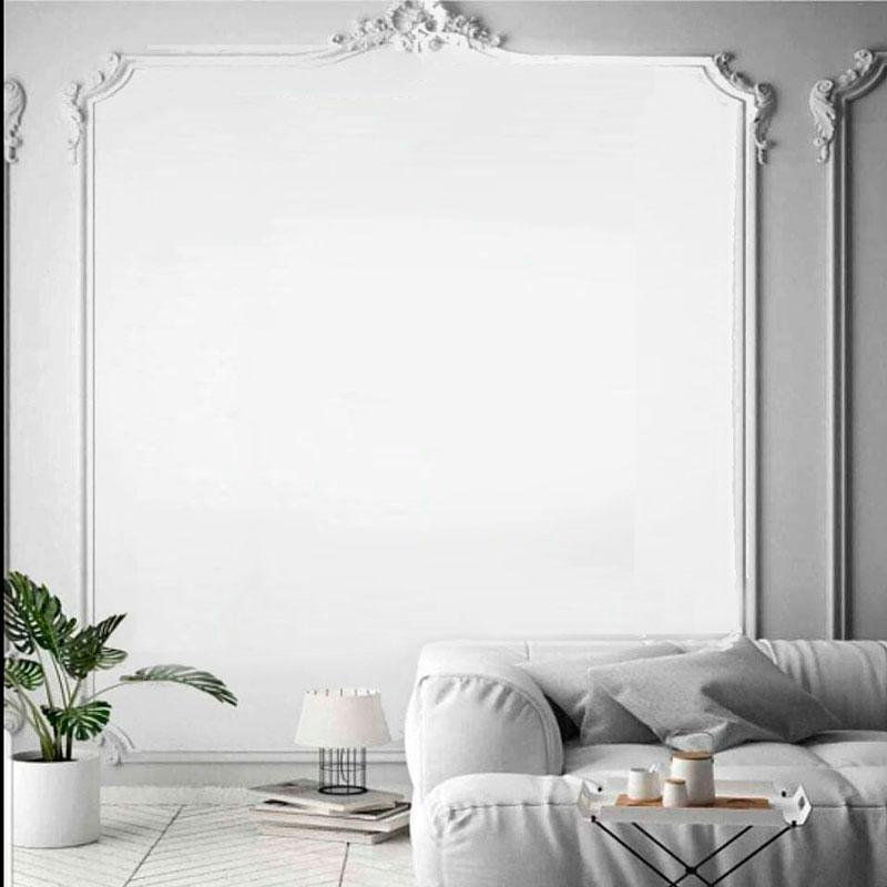 Sala Parede Branca  – Clássica